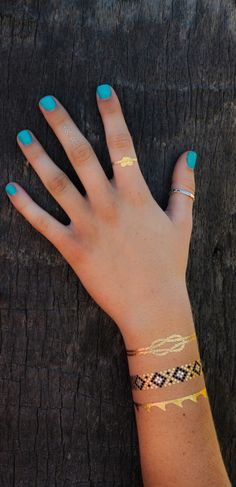 Jewelry Tattoos :: Palm Trees | By TribeTats