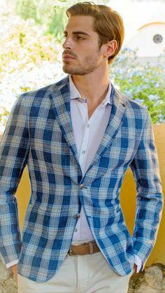 Blue Crush File under: Gingham, Patterns, Blazers