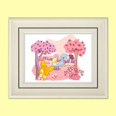Cute Animals Print 14x11 or 10x8  Friends by LyricalAstronaut, $19.99