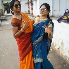 from @pikeywho -  #throwback to this. The fun we had when we were completely dressed traditional, yet had solid fun and enjoyment. After the temple visit we did our little dance number on kaala chasma and beat pe booty. Friends for life my sistah @vindhya_simha  #Saree #sareelove #sareedraping #sareedrape #sareenotsorry #sareebound #sareeforsummer #saree4summer #pleatsnpallu #9YardSaree #nineyard #nauvari #horakachche #giveaway #tamilponnu #marathimulgi #silveranklet #Handmadesoaps #toering…