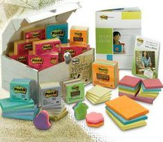 Um, a 10 pound box of assorted Post-It products?? Yes yes and yes! $54.95. Really not a bad price. Post-Its get pricey!