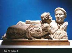 Volterra, Museo Guarnacci: urna degli sposi