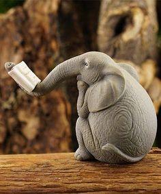 This lazy literary elephant underlines your m .- Dieser faulenzende literarische Elefant unterstreicht Ihre Mini-Garten-Displays mit einem … This lazy literary elephant underlines your mini garden displays with a …, around - Ceramic Animals, Clay Animals, Ceramic Art, Pottery Animals, Elephant Love, Elephant Art, African Elephant, Art Sculpture, Animal Sculptures