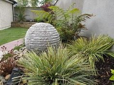Make a splashing impact with a modest garden water feature and create a unique soothing atmosphere with great calming effects. Garden Water, Water Features In The Garden, Dream Garden, Garden Landscaping, Garden Ideas, Landscapes, Gardens, Design Ideas, Curtains