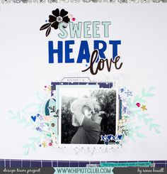 SWEET HEART LOVE CENTRAL DESIGN LAYOUT RENAE BOWELL