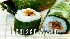 Resep Masakan Praktis Rumahan Indonesia Sederhana: Resep Lemper Ayam