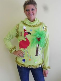 I searched for tacky Christmas sweaters -- mission accomplished ugly-clothes
