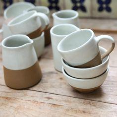 Mali Ceramic Slanting Jug