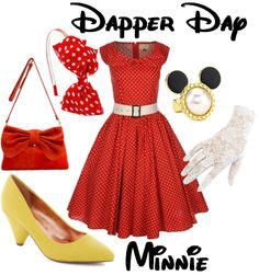 minnie mouse inspired outfit - Google Search