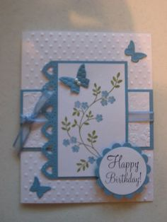 Stampin up Birthday card kit with envelopes