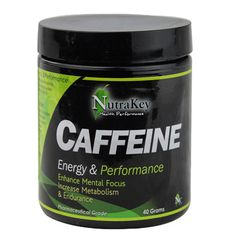 Caffeine is one of the most sought after fast acting stimulants on the market. When supplemented into your diet, caffeine will increase the release of adrenaline, increases the use of body fat for fuel, spares muscle glycogen increasing endurance, and also acts as a thermogenic agent.  Caffeine also aids in a fat burning metabolism.