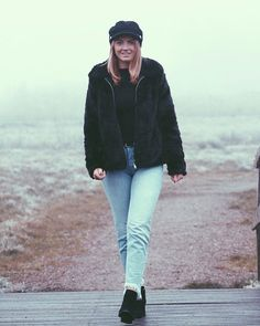 BACK IN STOCK! Life is just better when you have the right essentials in your wardrobe! Babe Joelle looks great in our Fisherman hat!