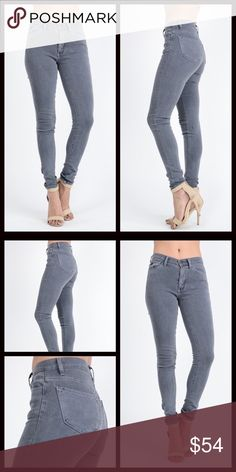 Skinnies in Rustic Gray The Storm fit. Another great pair of jeans with a very flattering fit. Mid-rise Jean with a slight stretch. The perfect addition to any closet. Gorgeous rustic gray. Measurements upon request. Runs true to size. Cotton/Spandex blend. Limited availability, don't miss out.Bundle & save 10%. Price firm unless bundled. EyeCandybyDidi Jeans Skinny