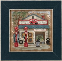 Joe's Garage - Beaded Cross Stitch Kit                                                                                                                                                                                 More