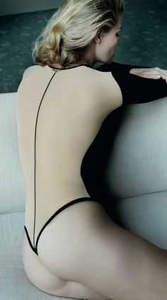 Mario Testino Shoots Wolfords Sexy Fall Ads Starring Caroline Winberg