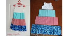 easy-sew-dress – this would be such aneasy way to make little girl dresses!