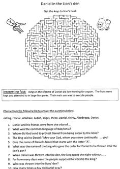 78 Best Bible Activity Sheets images in 2017 | Bible