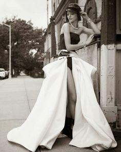 Sasha Pivovarova for Vogue Paris by Glen Luchford