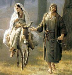 Maria, Josef og Jesus 3) På rejse og ophold i Bethlehem (copy 1)