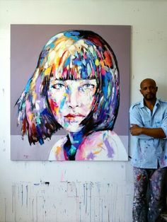 Jerson Jimenez, Oil on Canvas  Vienna. SOLD