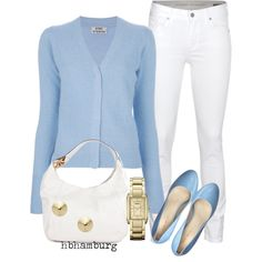 """No. 165 - Baby blue"" by hbhamburg on Polyvore"