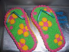 Pool Party Birthday Cake