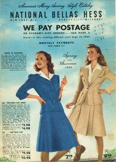 Bellas Hess catalogue,1943