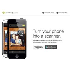 Want to save your precious family photos via your smartphone? Yes, please!  Download our FREE #Shoebox app to scan and save your valuable family memories  here:  http://shoebox.ancestry.com/  #familyhistory #familytree #genealogy #ancestry #heritage #root #smartphone #apps #mobile #mobileapps #shoebox #photoapps #iphoneapps #androidapps #iphone #android