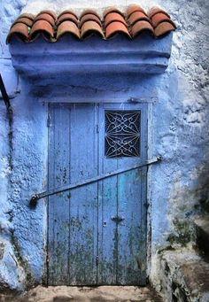Chaouen, Morocco by toyaguerrero, via Flickr