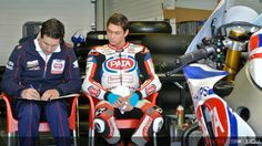 Michael vd Mark, PATA Honda World Superbike Team, Jerez Test