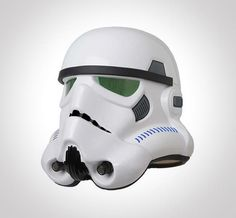 """Star Wars"" Stormtrooper Helmet Prop Replica by eFx - It's an exact replica of the ""Hero"" Colonial Viper Helmet seen on-screen in ""Star Wars Episode IV: A New Hope."""