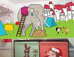 """Check out new work on my @Behance portfolio: """"ideas and time video of mural for kindergarten"""" http://be.net/gallery/48738627/ideas-and-time-video-of-mural-for-kindergarten"""