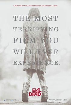 Was it the most terrifying film? It was actually pretty funny on the gore that was in this film.