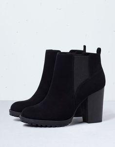 Bershka elastic track ankle boots - Shoes - Bershka Belgium