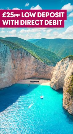 With pristine white beaches and pebbly cove bays, the spectacular shorelines of Zante are a perfect place to spend your time relaxing. And with hidden village spots to modern bustling resorts, whatever you want from your holiday, Zante offers something for everyone. Plus, £25pp low deposit when you pay by Direct Debit.