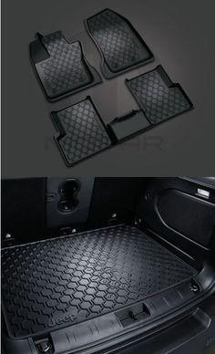 2015 Jeep Renegade Slush Mat Cargo Mat Tray Mopar OEM 82214194AB-82214195