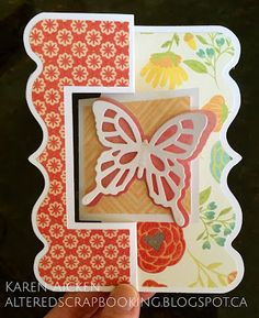 Flip It Card with Layered Butterfly