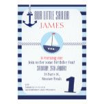 Boys Nautical 1st Birthday party Invitation More nautical themed gifts and decor at http://nauticalgiftsdecorweddings.dramaticallycorrect.com/