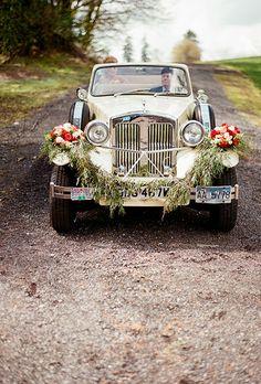 Creative Wedding Getaway Cars