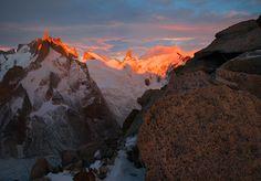 Cerro Pollone en la Patagonia Argentina