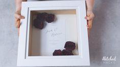 Find out how to preserve your wedding flowers so they look beautiful forever - plus our fab idea for framing and displaying them! Flowers Preserve Your Wedding Bouquet: How to Dry and Frame Your Flowers How To Preserve Flowers, Preserve Bouquet, How To Dry Out Flowers, Preserving Flowers, Wedding Bouquets, Wedding Flowers, Dream Wedding, Wedding Day, Wedding Boxes