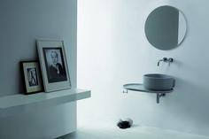 UKIYO-E Washbasin countertop by Olympia Ceramica