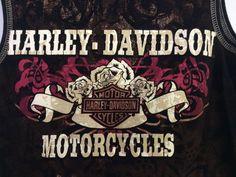 Harley Davidson Biker Sleeveless Top   | eBay