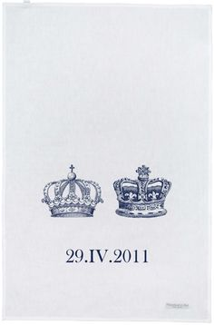 Royal wedding. Could be an idea for invitations...