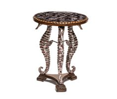 Round Accent Table | Discoveries - | Michael Amini Furniture Designs |