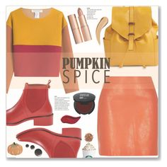 """Pumpkin Spice"" by cowseatchard ❤ liked on Polyvore featuring River Island, Philosophy di Lorenzo Serafini, Vera Bradley, Kate Spade, Charlotte Tilbury, Kat Von D and Homewear"