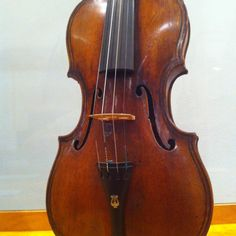 Giovanni Paolo Maggini violin, Brescia, c. 1632, previously owned by Brahm's close friend Joseph Joachim