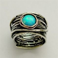 Eye of Ocean Ring  I know someone this would be perfect for! http://bit.ly/HpJ1dv