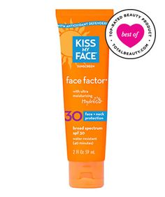 No. 7: Kiss My Face Face Factor SPF 30 For Face & Neck, $12.95, 9 Best Sunscreens for Your Face - (Page 4)
