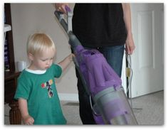 Keeping Your House Clean with Small Children Underfoot